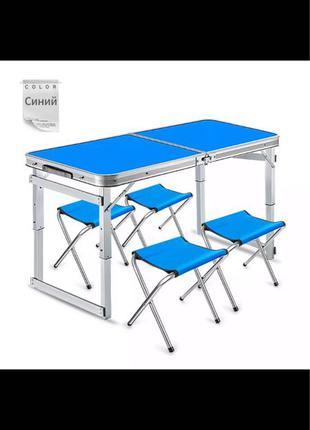 Стол +4 стула для пикника