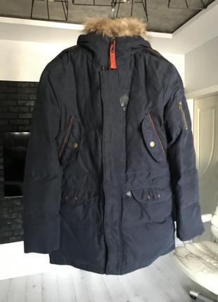 Пуховик парка куртка мужская