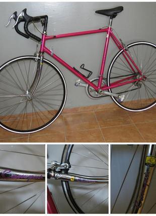 Велосипед шоссейный Шоссер Shimano 105 Columbus Винтаж