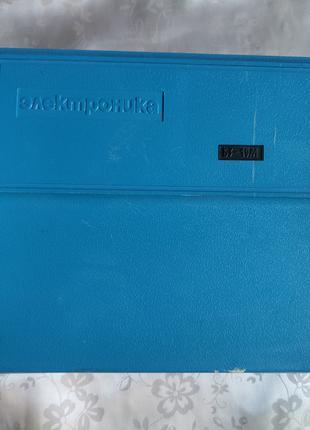 2 Электроника Б3-19М cиний футляр, коробка.