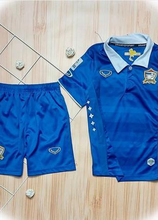 Костюм для мальчика, футбольный костюм, для футбола, шорты, фу...