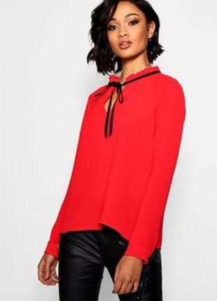 Красивая нарядная блуза boohoo moda in italy
