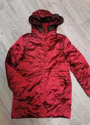 Куртка демисезонная стеганая на синтепоне