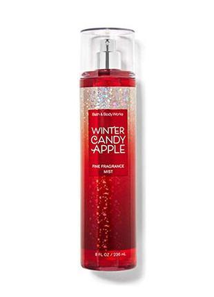 Спрей для тела мист bath and body works winter candy apple