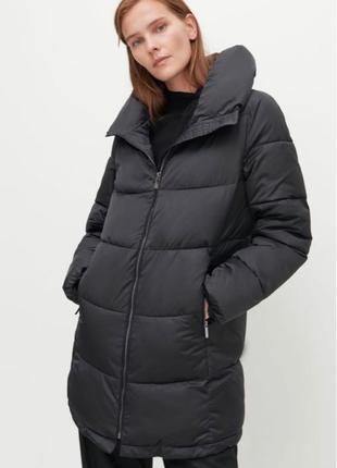 Утеплённое стеганое пальто Reserved XS