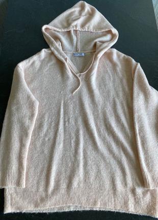 Тёплый свитер/ худи cropp oversized