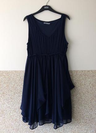 Шикарное брендовое шифоновое платье  soaked