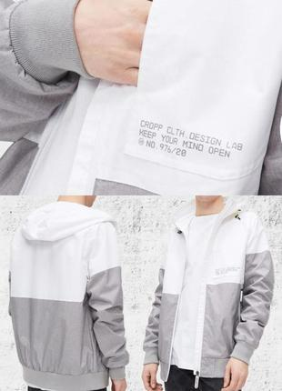 Куртка ветровка мужская стильная cropp