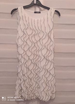 Плаття с воланами