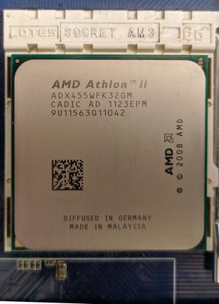AMD Athlon II X3 455, 3.3GHz
