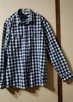 Рубашка LINDBERGH в клетку. Размер 2XL