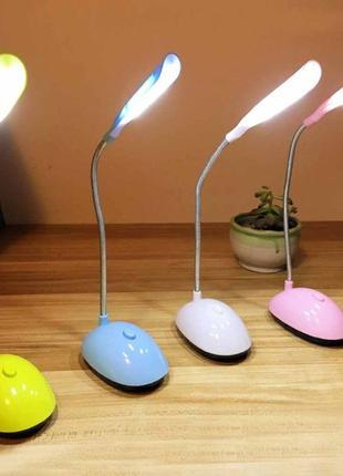 Складная портативная Светодиодная настольная лампа для детей