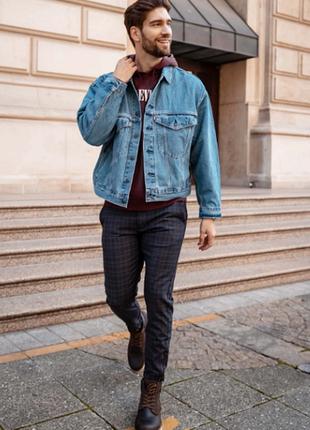 Levis джинсовая куртка оригинал из сша р.  l, xl