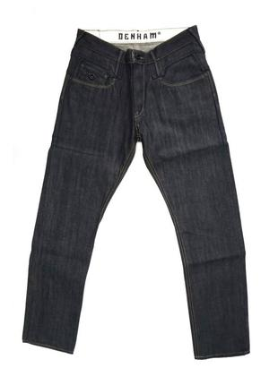 Распродажа! джинсы из японского денима denham cutter+ relax fit