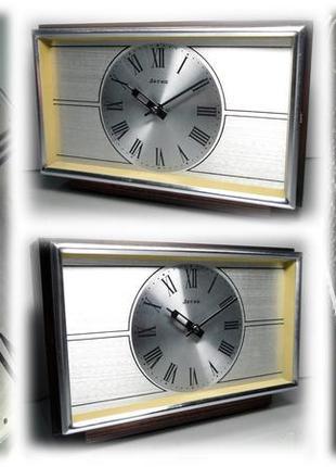 МЕХАНИЧЕСКИЕ часы «Весна», сделано в СССР 70-х. КАМИННЫЕ - НАСТОЛ