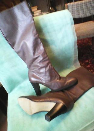 Сапоги кожаные жен.*Казачок* размер 27(41)