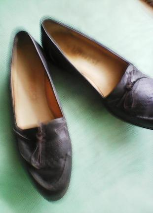 Туфли жен кожаные размер 8  (41) Lenwest