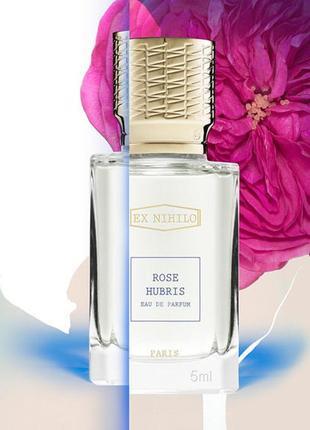 Ex Nihilo Rose Hubris_Оригинал EDP_3 мл затест парф.вода