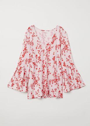 Блуза в цветочный принт zara zara zara zara
