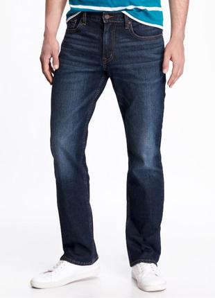 Новые классические мужские синие джинсы old navy