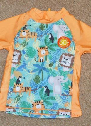 Купальная футболка baby р.9-12 мес