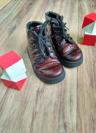 Стильные ботинки, стильні дитячі черевики rohde (германия)