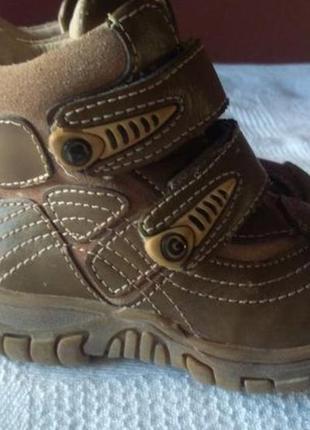 Ботинки b&g зимние на меху р. 21 14 см