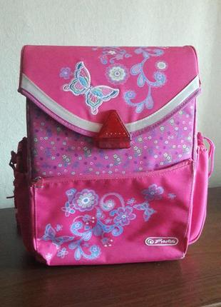Рюкзак для школы herlitz розовый