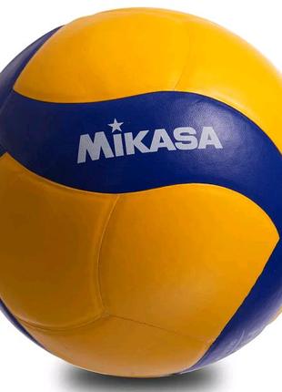 Мяч волейбольный клееный Mikasa V390W оригинал