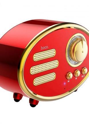 Bluetooth колонка Speaker Hoco Bs25 Red