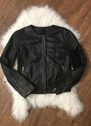 Куртка косуха mango Zara кожа натуральная