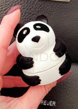 """Подарочная коробочка для кольца """"панда"""" 5 см"""