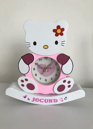 Часы, настольные часы, часы неваляшка, настольные часы hello k...