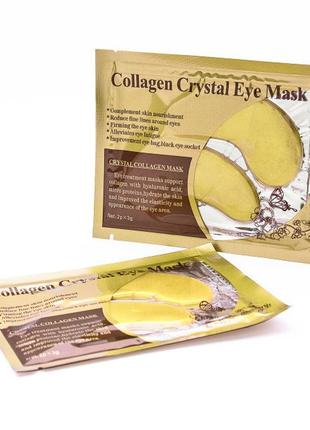 Гидрогелевые патчи под глаза с коллагеном crystal collagen eye...