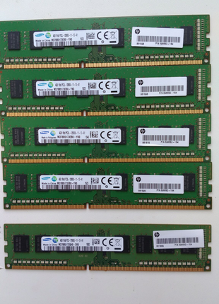 Для ПК 4Гб 4Gb Samsung DDR3 1600 1.5V 12800U M378B5273DH0-CK0