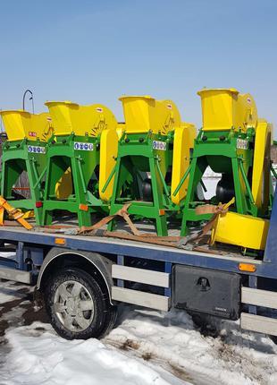 Дробилка щепорез на трактор прицепная дробилка  ДДУ 25 УРМ 5 щепа