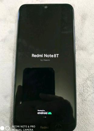 Redmi note 8T black 4/64
