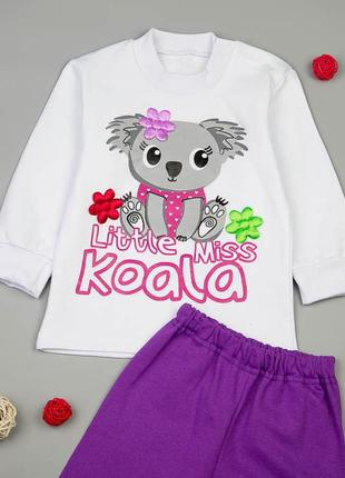 Костюм для дівчинки міс коала