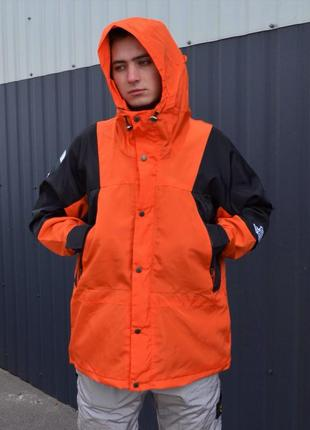 Куртка supreme the north face light orange