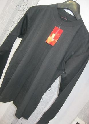 100 вискоза натуральная футболка с длинным рукавом в школу на ...