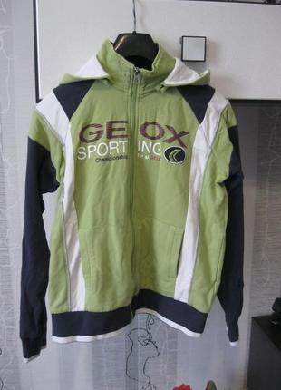 Geox натуральная спортивная куртка спортивный костюм кофта рег...