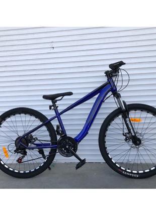 Горный велосипед TopRider 550 колеса 26 дюймов, рама 15 синий