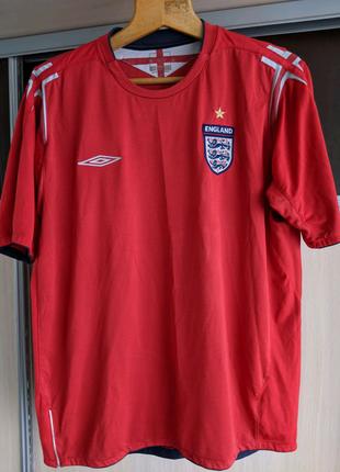 Футболка сборной Англии XL футбольная England