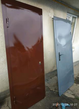 Двері металеві технічні товщ 2 мм під замовлення