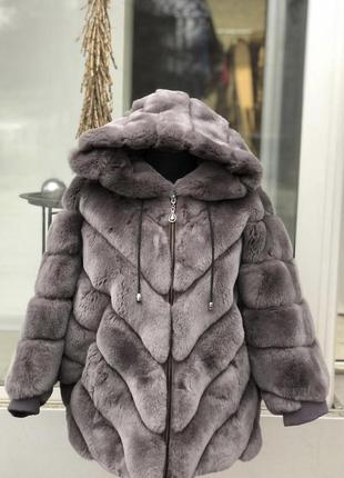 Курточка из меха кролик рекс