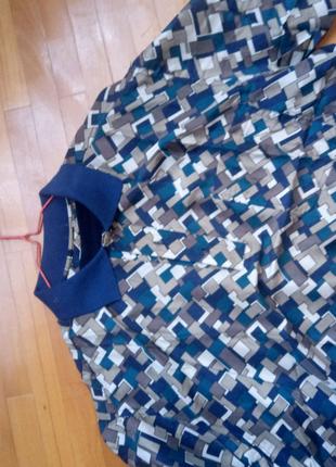 Нова шовкова чоловіча сорочка silk collektion XL.