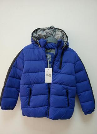Зимняя куртка для малтчика 6-7 лет ovs, италия
