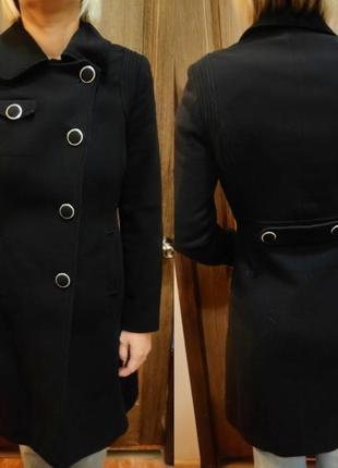 Пальто классика пуговицы junker