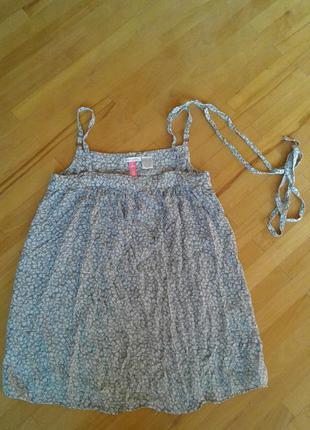 Шелковая блуза-туника для изящной девушки от soft grey  34 (xs...