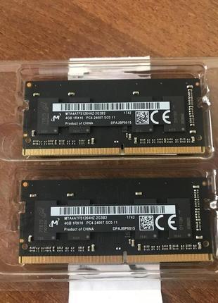 Память SO-DIMM DDR4, 4Gb, 2400 MHz